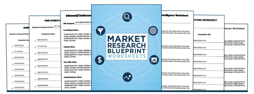 Market Research Blueprint Worksheets